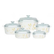 Corningware 10 pcs Chef Classic Covered Casserole Set  Kobe