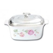 Corningware 5L Covered Casserole Country Rose