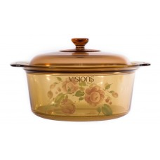 Visions 5L Covered Dutch Oven Country Rose