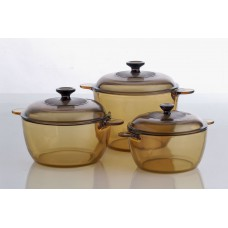 Visions 6 pcs Covered Cookpot Set